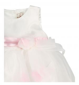 Платье , цвет: белый/розовый LP Collection