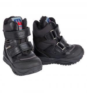 Ботинки , цвет: черный Minimen