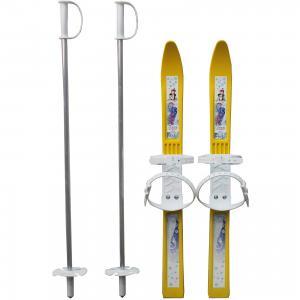 Лыжи детские «Олимпик-спорт» с палками, в сетке, ассортименте Цикл