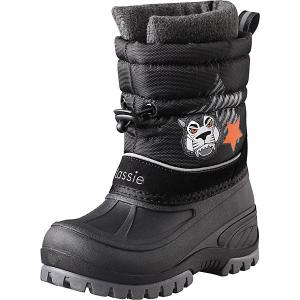 Утепленные ботинки LASSIE. Цвет: черный