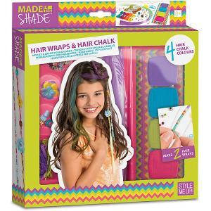 Набор для создания украшений волос , c радужными мелками Style Me Up