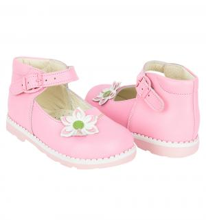 Туфли , цвет: розовый Таши Орто