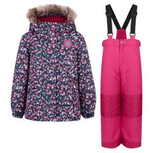 Комплект куртка/полукомбинезон , цвет: лиловый Peluchi&Tartine