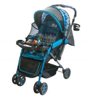 Прогулочная коляска  LK- 216, цвет: синий Little King