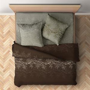 Комплект постельного белья  Сиена, 5 предметов Романтика. Цвет: разноцветный