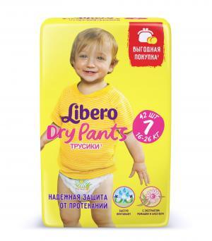 Трусики  Dry Pants 7 (16-26 кг) 42 шт. Libero