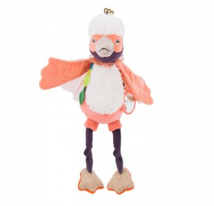 Мягкая игрушка  Фламинго Moulin Roty