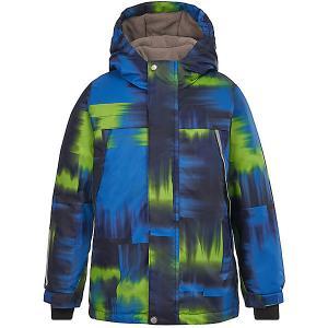 Утеплённая куртка Oldos Эдриан. Цвет: синий
