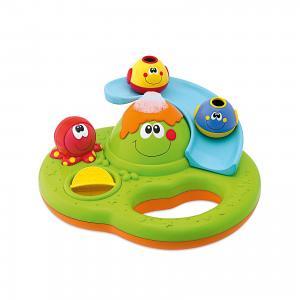Игрушка для ванной Остров пузырьков, Chicco