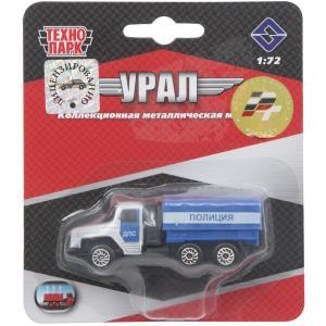 Машина  Урал Полиция Технопарк