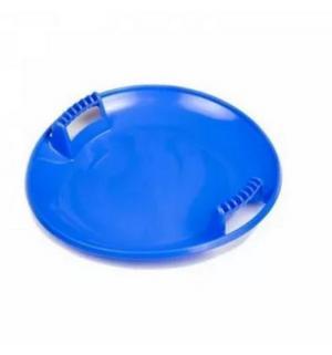 Ледянка  Тобоган, цвет: голубой Пластик