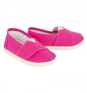 Туфли текстильные , цвет: фуксия Trien
