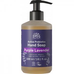 Органическое жидкое мыло для рук Пурпурная лаванда 300 мл Urtekram