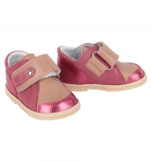 Полуботинки , цвет: розовый/бежевый Фома