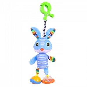Подвесная игрушка  на прищепке Зайка Нуки 36x12 см Biba Toys