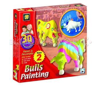 Набор Разрисуй буйволов 3D AMAV (Diamant)
