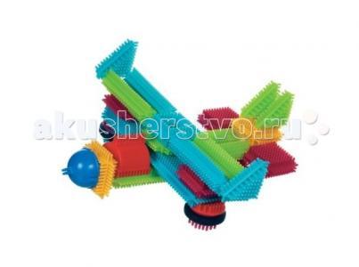 Конструктор  игольчатый в чемоданчике 113 деталей Bristle Blocks