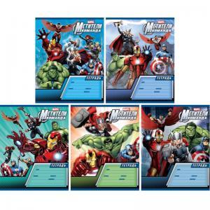 Тетрадь 18 линейка Marvel Мстители