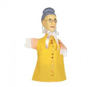 Кукла на руку Бабушка резная Goki