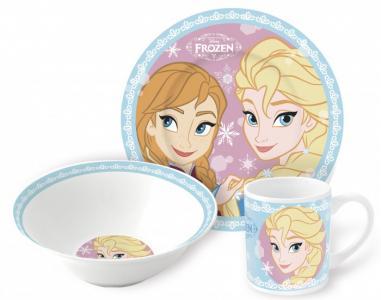 Набор посуды керамической Холодное сердце Сестры (3 предмета) Stor