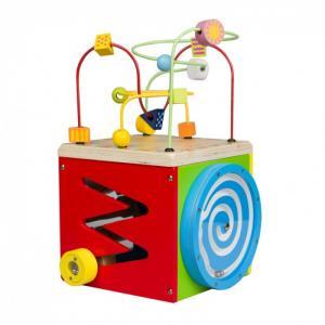 Деревянная игрушка  Лабиринт многофункциональный Куб Classic World