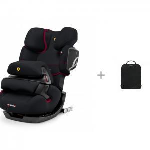 Автокресло  Pallas 2-Fix FE Ferrari + защитный коврик на спинку сидений Cybex