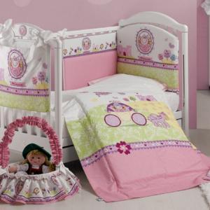 Комплект в кроватку  Principessa (5 предметов) Roman Baby