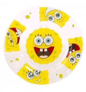 Тарелка  Улыбки стекло Губка Боб