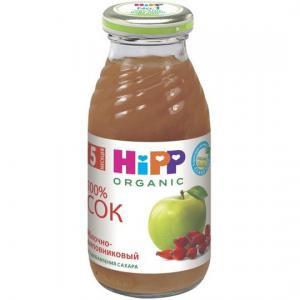 Сок  яблоко-шиповник, 200 мл Hipp