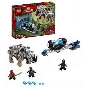 Конструктор  Super Heroes 76099: Поединок с Носорогом LEGO