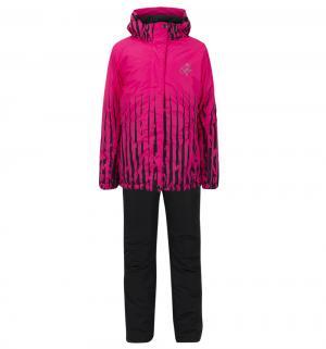 Комплект куртка/полукомбинезон , цвет: розовый Kalborn