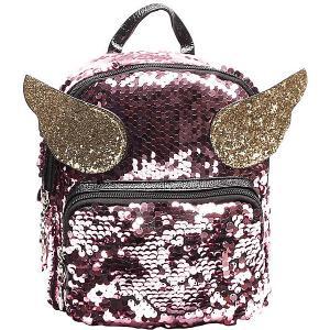 Рюкзак  19х22х13 см Vitacci. Цвет: розовый