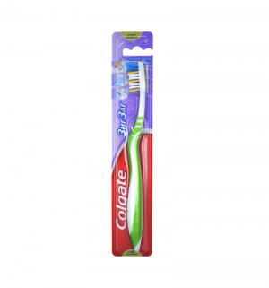 Зубная щетка  Зиг-Заг Плюс, цвет: зеленый Colgate