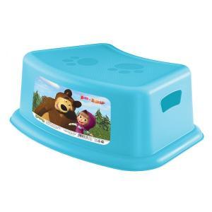 Подставка  Маша и Медведь, цвет: голубой Бытпласт