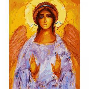 Живопись на подрамнике  Ангел Белоснежка