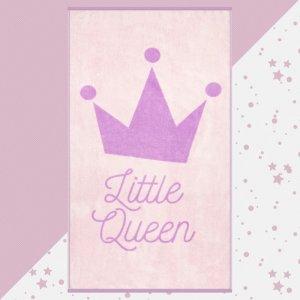 Полотенце махровое Little queen 130х70 Этель