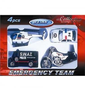 Игровой набор  Служба спасения Полиция Welly