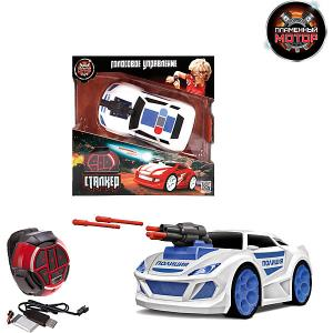 Радиоуправляемая машинка  Сталкер Полиция Пламенный мотор. Цвет: синий/белый