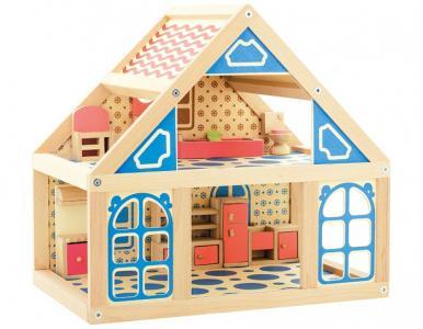 Кукольный дом 1 Мир деревянных игрушек
