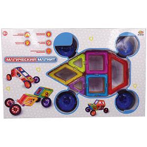 Конструктор  Магический магнит, 46 предметов ABtoys. Цвет: разноцветный