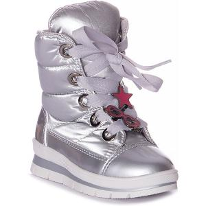 Утепленные ботинки Sector  Superstar Jog Dog. Цвет: серебряный