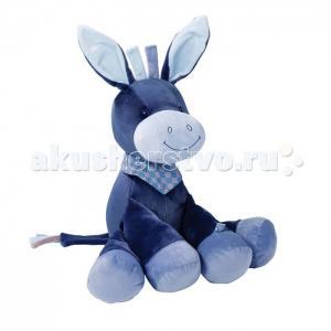 Мягкая игрушка  Soft toy Alex & Bibiou Ослик 75 см Nattou