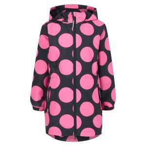 Плащ , цвет: розовый/серый Crockid