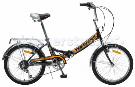 Велосипед двухколесный  складной Compact 50, 6 скоростей 20 TopGear