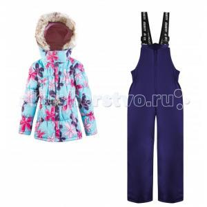 Комплект для девочки (куртка, полукомбинезон) GWG 5589 Gusti