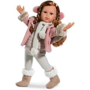 Кукла  София, 42 см Llorens. Цвет: серый
