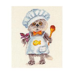 Набор для вышивания  Басик шеф-повар 10х14 см Алиса