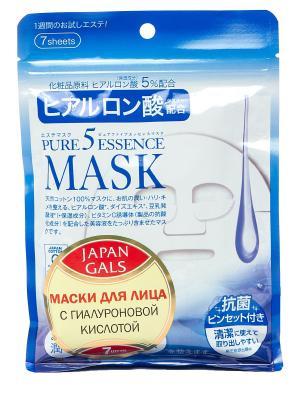 Маска  с гиалуроновой кислотой + подарок Pure5 Essence Japan Gals