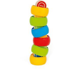 Развивающая игрушка Brio Сборная башенка, 12 деталей