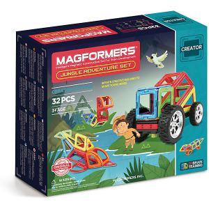 Магнитный конструктор Magformers Adventure Jungle 32 set